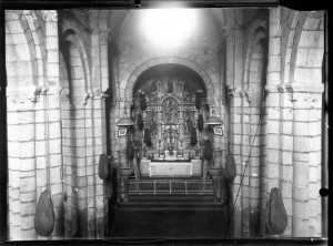 Capela maior. Arquivo fotográfico Ruíz Vernacci. Instituto del Patrimonio Cultural de España (IPCE).