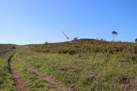 Localización do Monte Piquiño