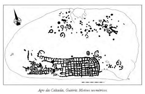 Calco do Agro das Calzada. Antonio de la Peña Santos. 1980